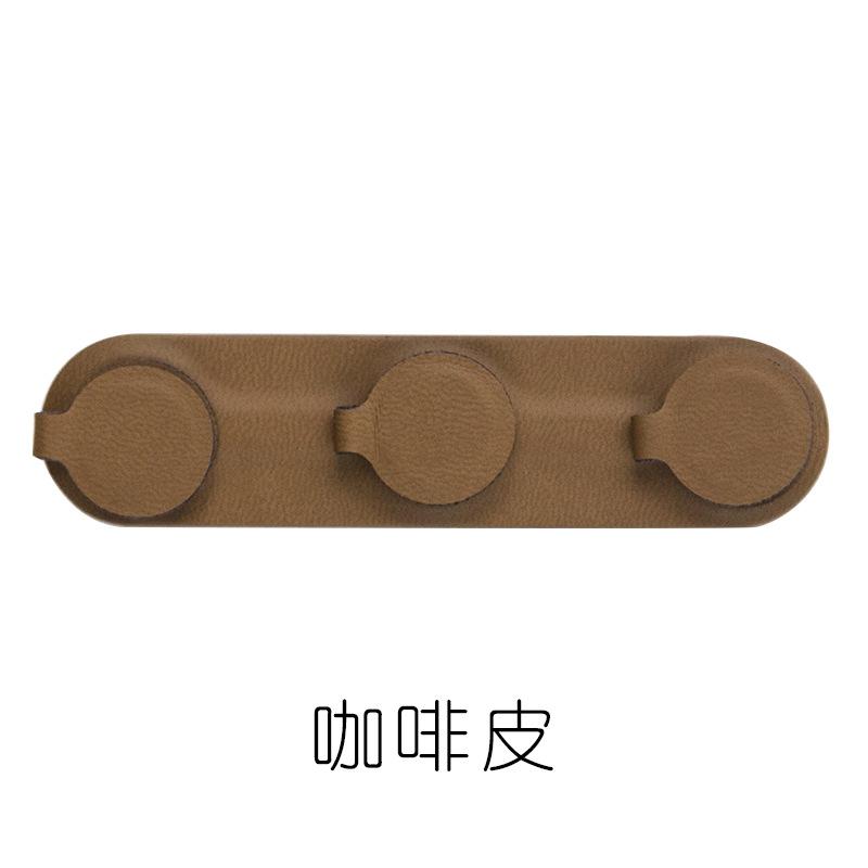 Pickup dinding stiker tetap klip headphone jamnya manajemen kabel