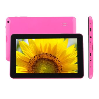 Pink 9' Android4.4 A33 Quad Core 1G+ 16GB Pad Dual Camera Wifi Tablet PC US