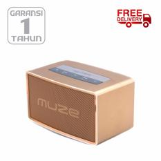 POLYTRON  MUZE BLUETOOTH Speaker  Black PSP B1 - Gold