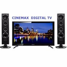 POLYTRON PLD 40TS853 +Speaker  LED CINEMAX TV 40' ( DVB-T2 DIGITAL TV )Khusus Jabodetabek