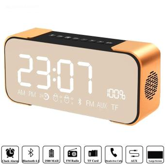 Portable Bluetooth Speaker PTH-305 Wireless Stereo Music Sound BoxSupport FM Radio Line In TF Time/Alarm Clock Altavoz Speakers -intl