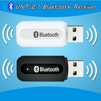 Portable Usb Bluetooth musik Stereo Penerima adaptor nirkabel mobil Audio 3.5mm Bluetooth Penerima Dongle untuk speaker Iphone Mp3