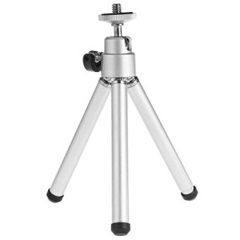 Practical Universal Strong Tripod Mount for Camera Selfie Monopod (Silver) - intl