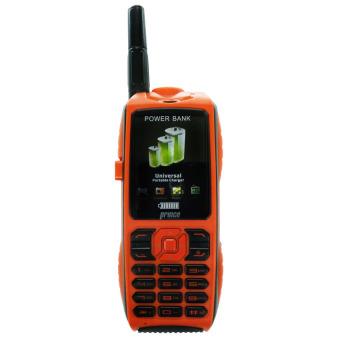 Prince PC-9000 - Battery 10000mAh - 3 Sim GSM - Orange