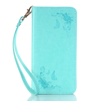 Print Butterfly Fly Flower PU Leather Flip Wallet Cell Phone CaseAnd Soft TPU Cover For Samsung Galaxy J3 Pro (Green), 88.000, Update. Womens Small Wallet ...