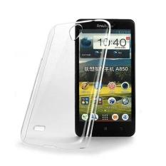 Rp 59.000. Priskila Ultrathin Softcase Untuk Lenovo A5000 Case Lentur Transparan Silicon Casing Cover - Putih ClearIDR59000