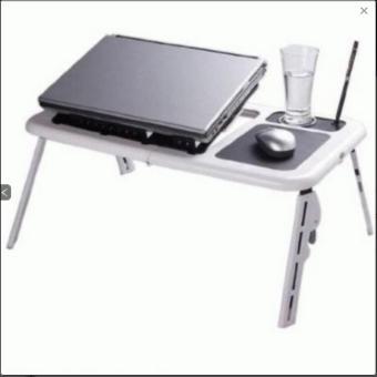 PROMOO... Meja Laptop Praktis e-table  Table Laptop