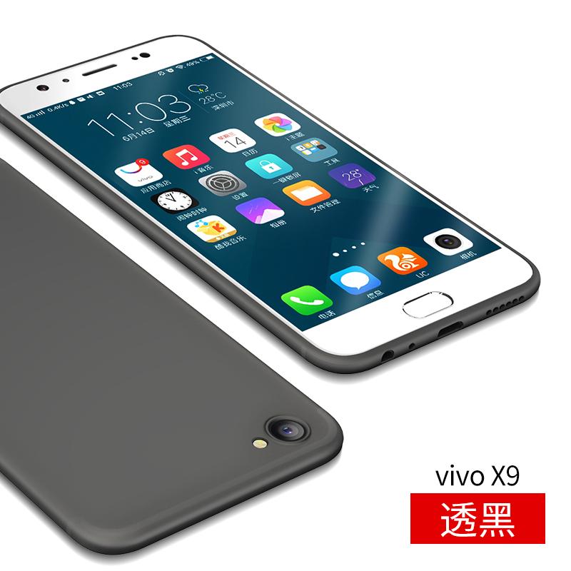 Puls vivox9/x9plus matte tipis cangkang keras ponsel shell