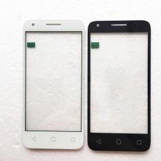(Putih) Baru untuk Alcatel One POP4 Pop 4 OT 5051 5051D 5051J 5051 M 5051X OT5051 Layar Sentuh Digitizer Aksesoris + 3 M Tape + Membuka Alat Perbaikan + Lem