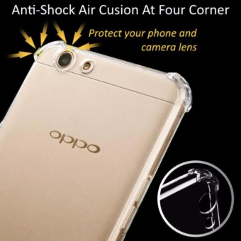 Update Harga QCF Softcase Anti Shock Oppo A59 Anti Crack Oppo F1s oppo A59 /Softshell / Silicon Oppo A59 Casing / Case Oppo – Bening IDR6,200.00  di Lazada ID