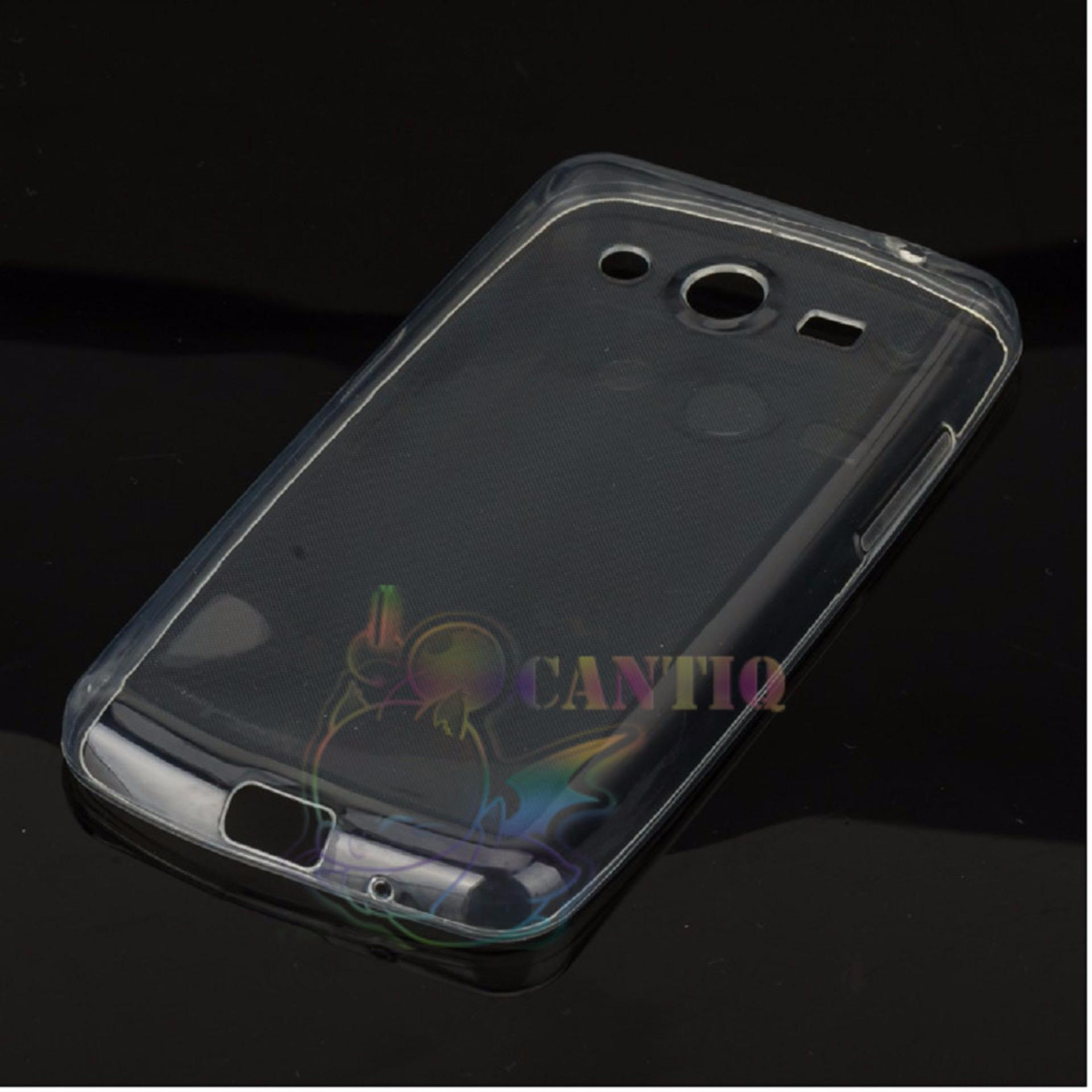 Ultrathin For Andromax B Ultrathin Jelly Air Case 03mm Soft Backcase Source · QCF Ultrathin Case