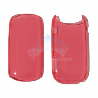 Rainbow Hardcase Samsung Caramel GT-E1272 Back Case Samsung E1272 -Transparant Red