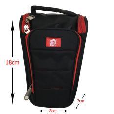 Rajawali Tas Segitiga E46 - Hitam Merah - For DSLR/Mirrorless