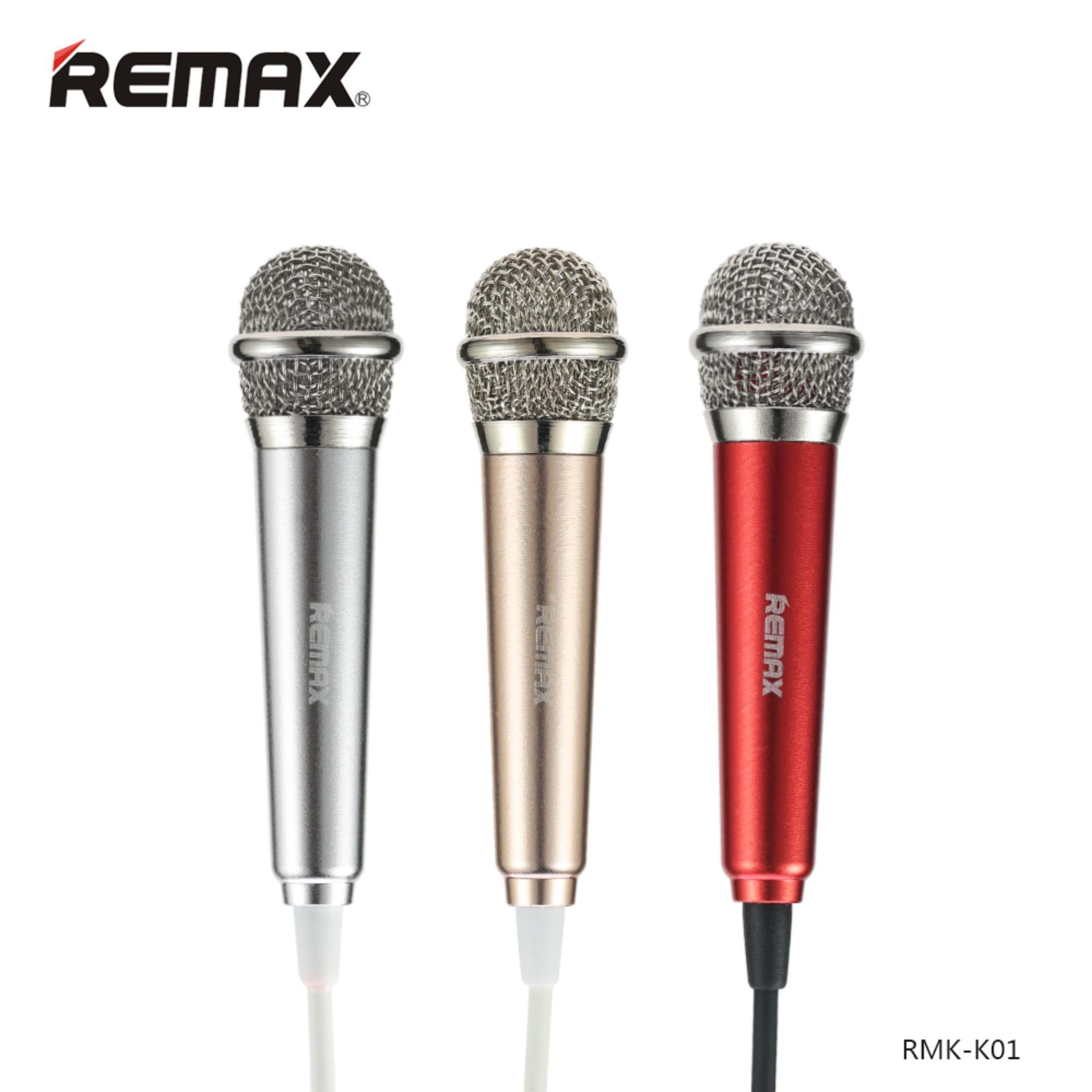 Remax Singsong K Mini Microphone RMK-K01 Mic Mikrofon .