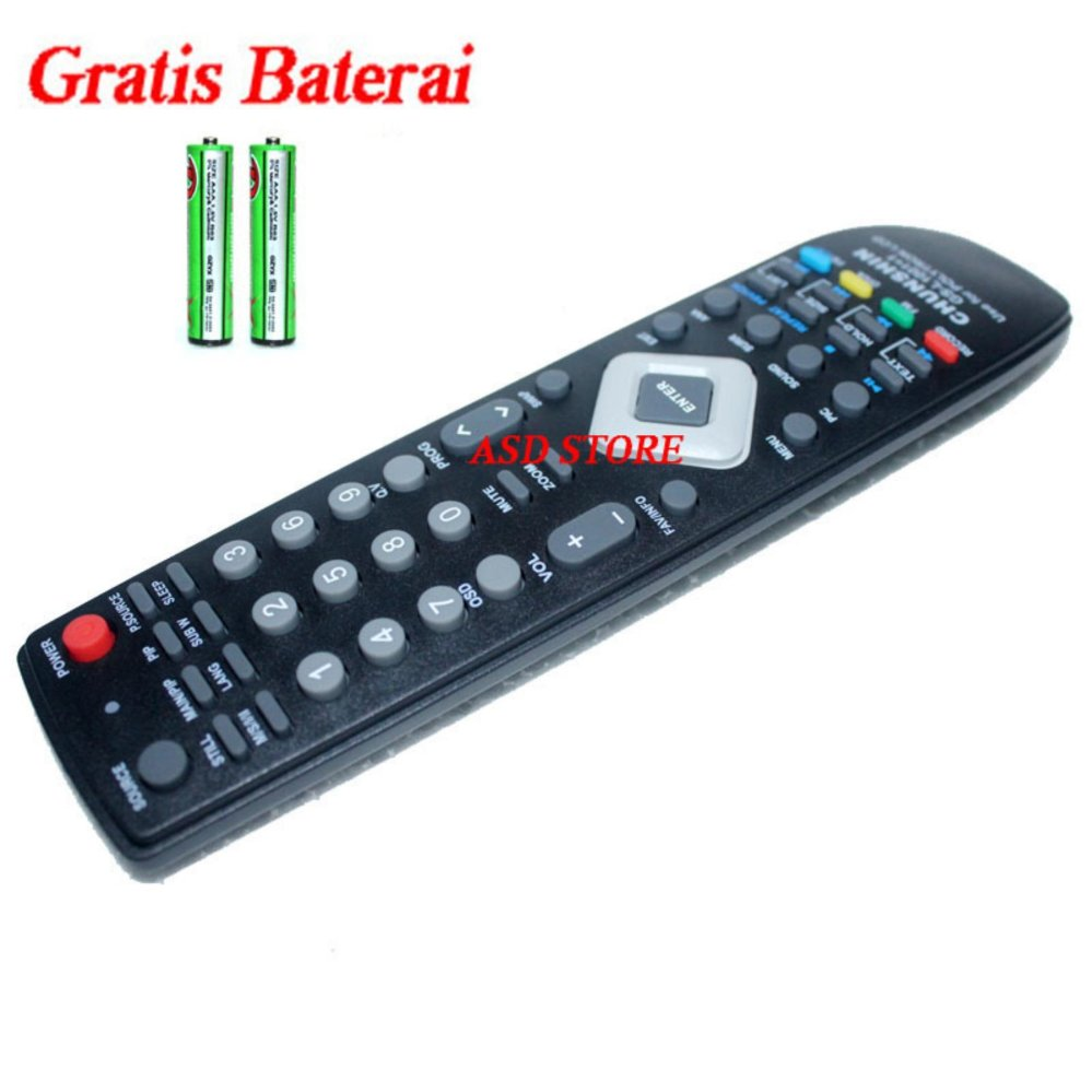 ... Remote Control TV Polytron LCD LED ...