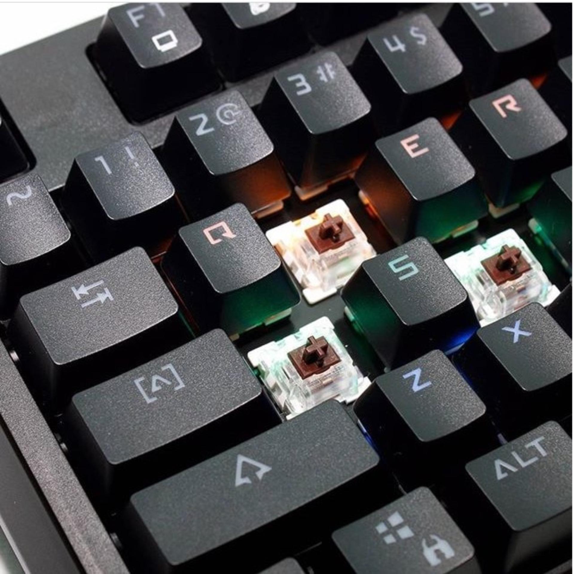 Belanja Terbaik Rexus Mx6 Mechanical Keyboard Penawaran Bagus Kx1 Backlight Semi Gaming