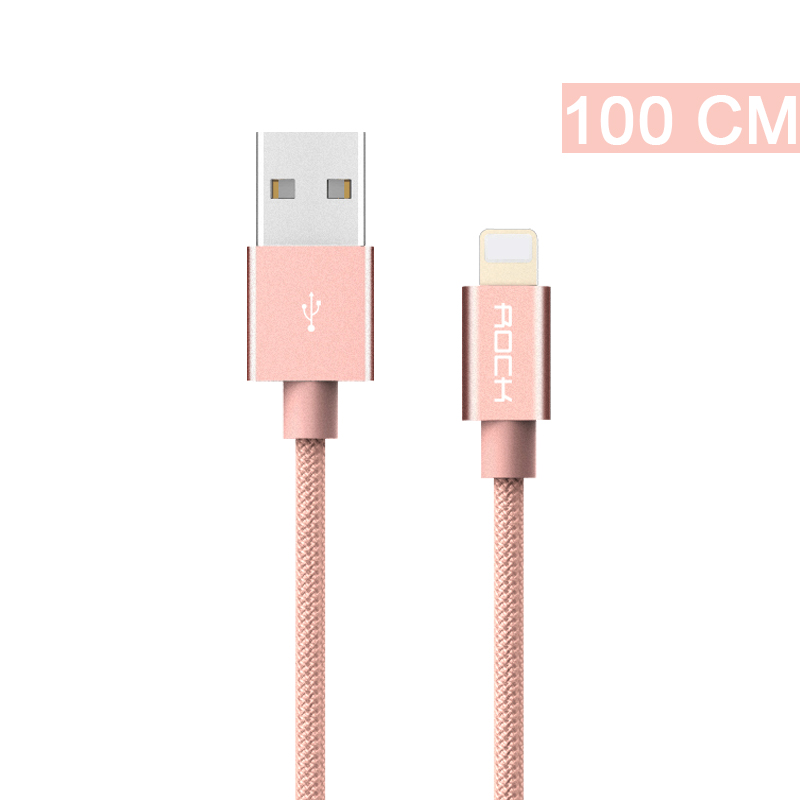 ROCK iPhone6 2A mie Apel ekstensi telepon kabel charger Data baris .