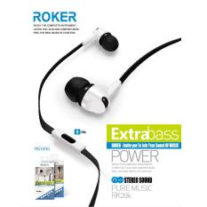 Roker Handsfree Extra Bass Rk20k - Hitam
