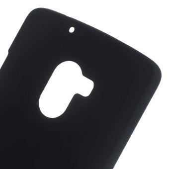 Rubberized Hard Shell Case for Lenovo A7010 / Vibe X3 Lite / K4 Note (Black) - intl - 3
