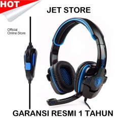 Sades Headset Gaming G Power - SA708 - Biru