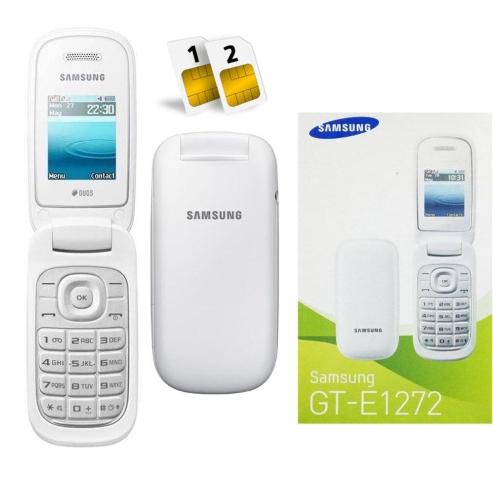 Flash Sale Samsung Caramel 2 Sim Card GT E1272 - Putih