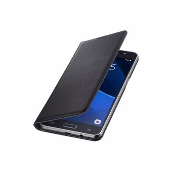 Samsung Flip Wallet J5 2016 Original Black