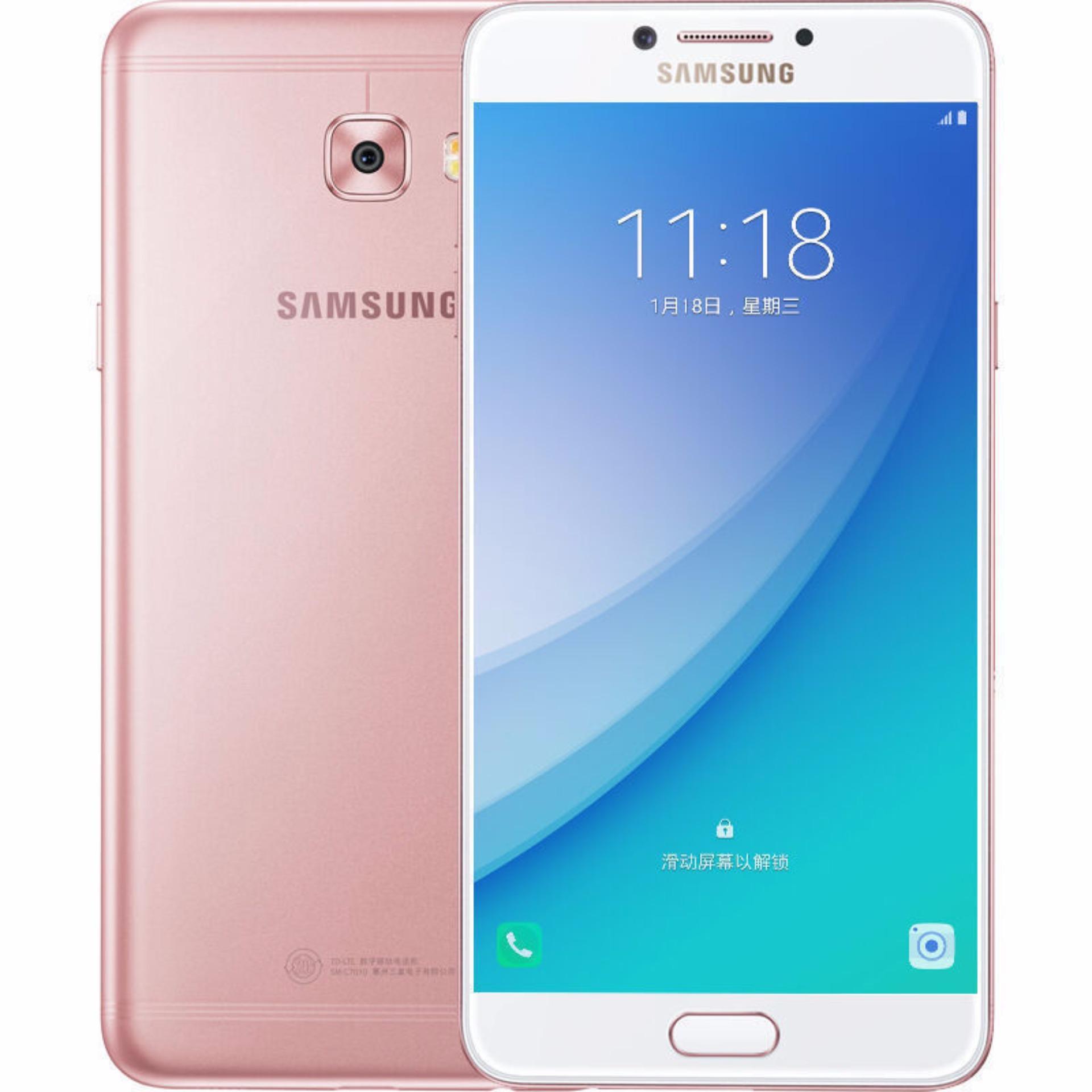Terbaik Murah Samsung Galaxy C7 Pro 64gb Ram 4gb New 100 S6 Edge Plus G9287c Original