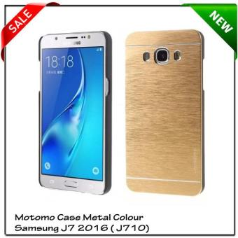 Samsung Galaxy J710 J7 2016 Motomo Case Metal Colour