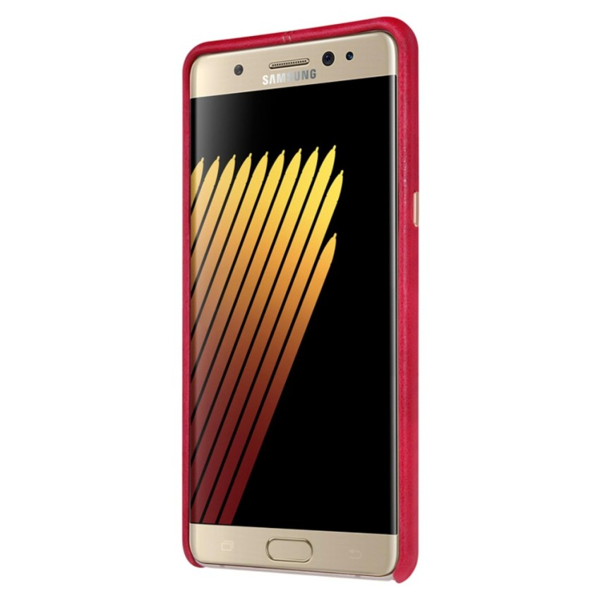 Samsung Galaxy Note FE / Fan Edition Case, Nillkin Englon Serie Compatible with Magnetic Phone