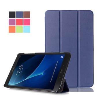 Samsung Galaxy Tab A 10.1(2016) SM-T580/SM-T585 - PENNY Ultra SlimProtective Case Cover Stand for Samsung Galaxy Tab A 10.1 InchTablet(2016)Dark Blue - intl