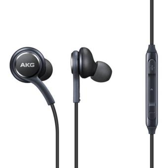 Samsung Handsfree S8 AKG 3.5mm Earphone/Headset Black - Original