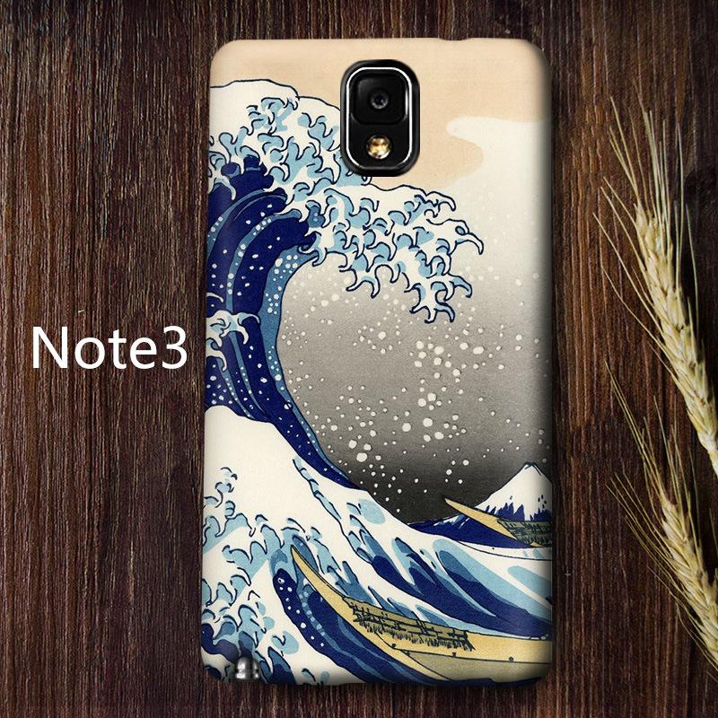 Flash Sale Samsung Note3 note4note5 kepribadian merek populer matte cangkang keras ponsel shell