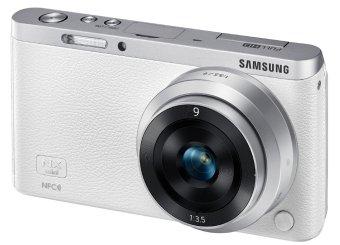 Samsung Smart Camera NX Mini 20.5MP with 9mm Lens White + 16GB Set