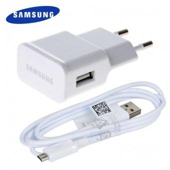 Samsung Travel Charger Original for Galaxy Series / tab series 2AAdapter + Micro USB Cable - Putih