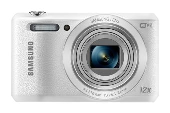 Samsung WB35F 16.2MP Smart WiFi & NFC Digital Camera (White)