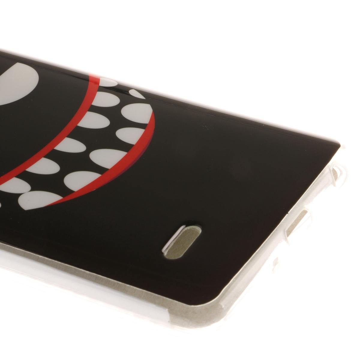 Sangat tipis dan lembut cocok TPU pelindung kasus sampul belakang telepon untuk LG G3 Stylus D690 ...