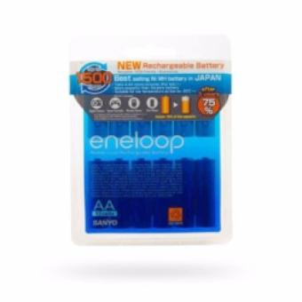 Sanyo Eneloop AA Rechargeable Battery Pack isi 12