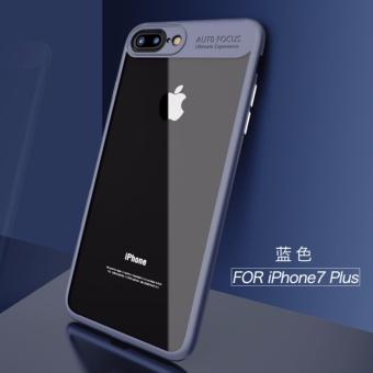 ... Saya Paky lembut Silicone Frame Acrylic PC Clear case untuk iPhone7 Plus