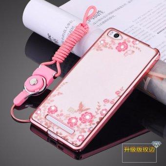 Secret Garden Diamond TPU Back Cover Protection Case For Xiaomi Mi4i / Xiaomi Mi 4C (