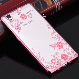 Secret Garden Plating TPU phone case For OPPO R7S (Rose Gold) -intl