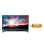 "Sharp 32"" LED HD TV - Hitam (Model LC-32LE185i)"