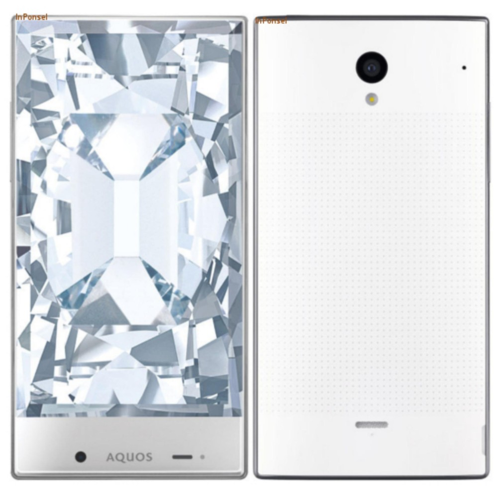 ... SHARP AQUOS CRYSTAL 305 SH - 4G LTE - 8 GB ( Design Mewah Tanpa Bezel