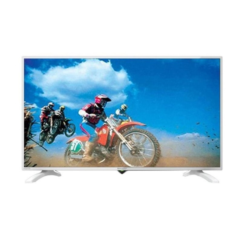 SHARP LC40LE185IWH LED TV - White [40 inch]