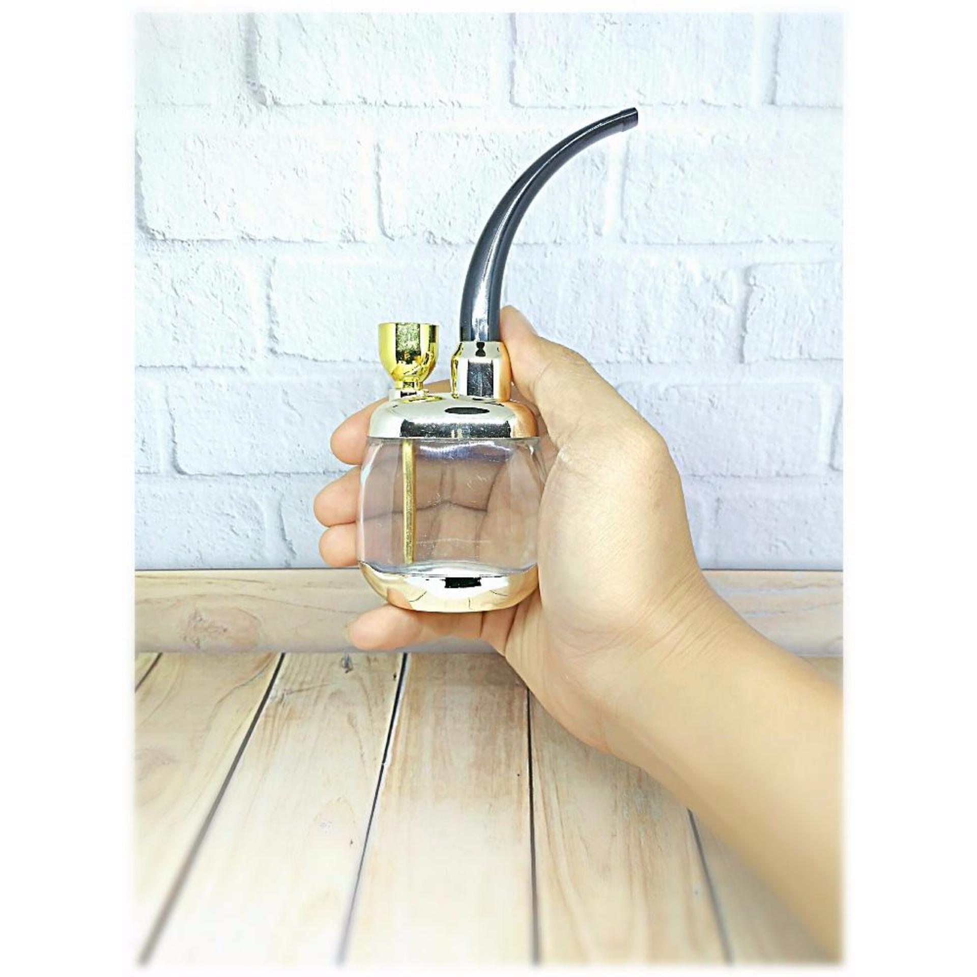 Shisha Bong Water Pipe Rokok Tembakau Pipa Penyaring Racun Nzh 129 Cangklong Filter Smoke Clean Cool