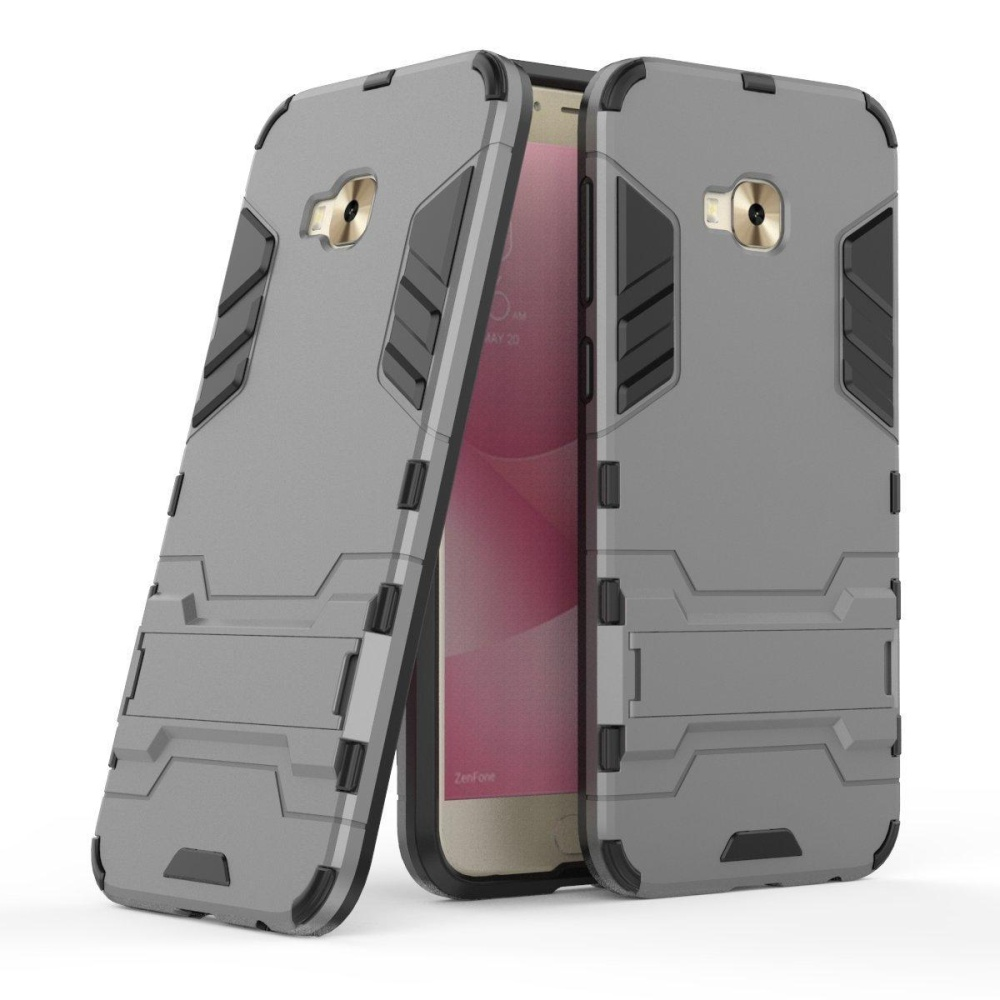 ... Shockproof with Kickstand Feature Case Hybrid Dual Layer Armor Defender Protective Cover for Asus ZenFone 4 ...