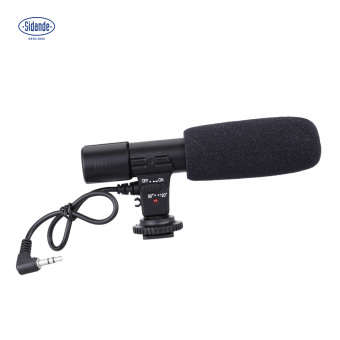 harga Sidande Mic-01 Kamera Digital Video DV Studio Stereo Camcorder3.5mm Recording Mikrofon untuk Canon Nikon Pentax Olympus PanasonicDigital SLR Camera - intl Lazada.co.id