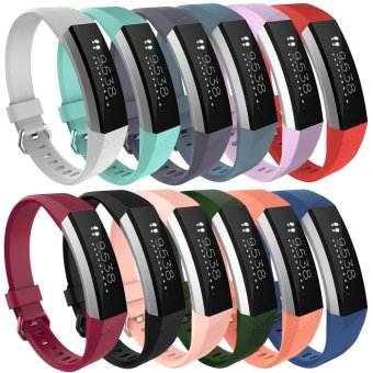 Harga Silicone Strap Classic Band for Fitbit Alta HR Heart Rate Fitness Wristband intl Terbaru klik gambar.