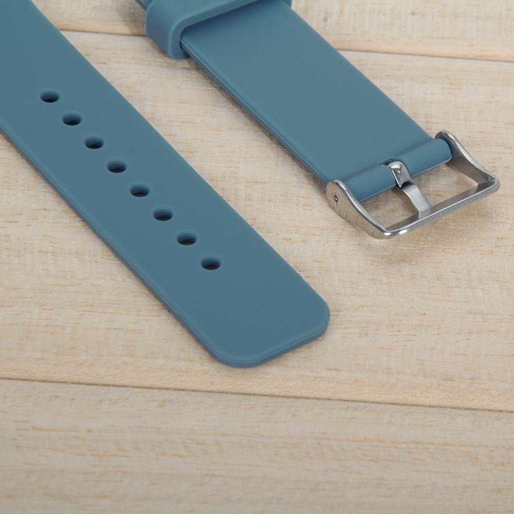 Silicone Watch Band Strap For Samsung Galaxy Gear S2 SM R720 Cyan .
