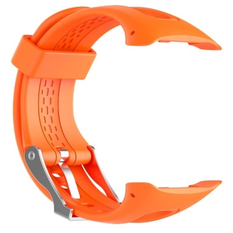 Silicone Watchband Replacement + 1 Set Tool for Garmin Forerunner10/15 Female Edition - intl