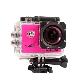 SJCAM SJ4000 Action Camera Diving 30M Waterproof Camera 1080P Full HD 170 Degree Sports DV (Pink) - intl